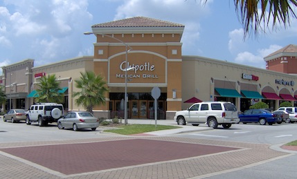 Chipotle mexican grill building