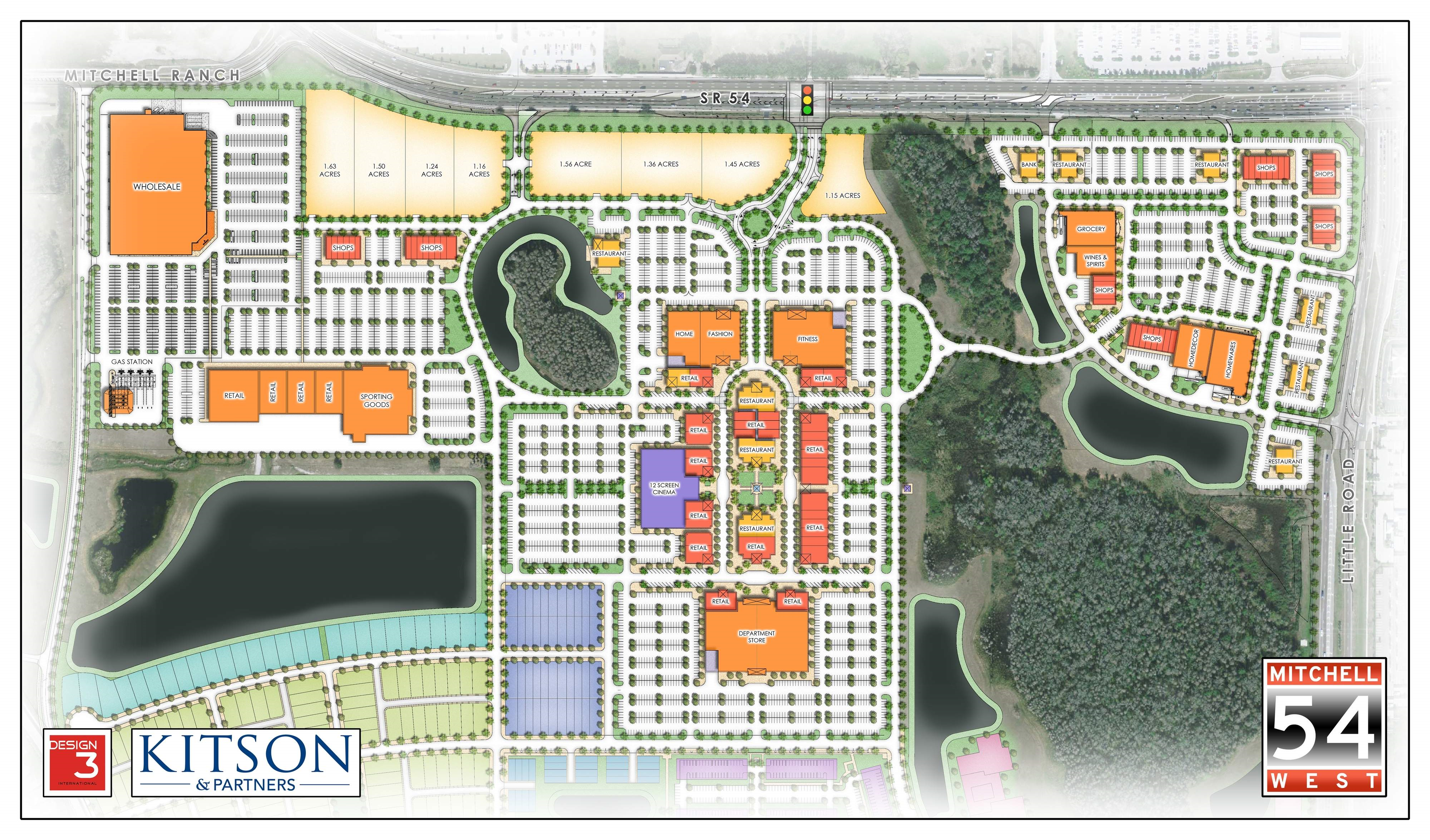 Trinity Florida Map.Kitson Partners Plans For Mall On Mitchell Ranch Land Unveiled